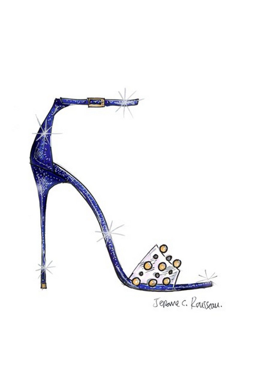 Jerome Rousseau | Designers Reinvent Cinderella's Glass Slipper | Image Source: www.vogue.co.uk