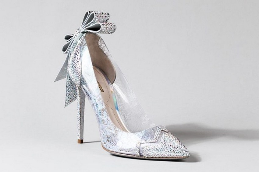 Nicholas Kirkwood | Designers Reinvent Cinderella's Glass Slipper | Image Source: www.vogue.co.uk