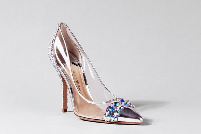 Paul Andrew | Designers Reinvent Cinderella's Glass Slipper | Image Source: www.vogue.co.uk