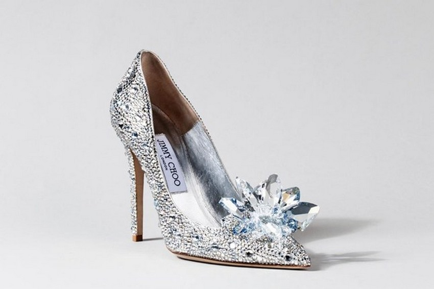 Jimmy Choo | Designers Reinvent Cinderella's Glass Slipper | Image Source: www.vogue.co.uk