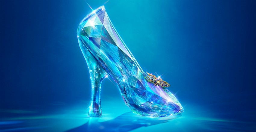 The Actual Shoe from the Movie | Designers Reinvent Cinderella's Glass Slipper | Image Source: cdn.screenrant.com