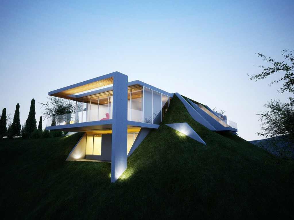 Earth House Project: The Home Built Into the Ground