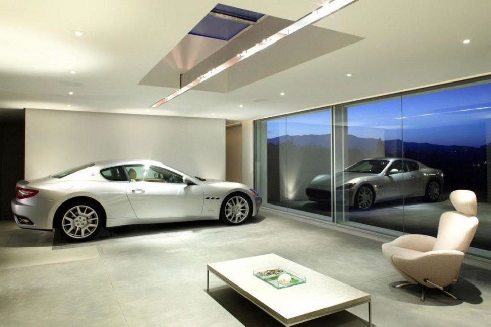 these 20 luxurious garages are perfect for a supercar. Black Bedroom Furniture Sets. Home Design Ideas