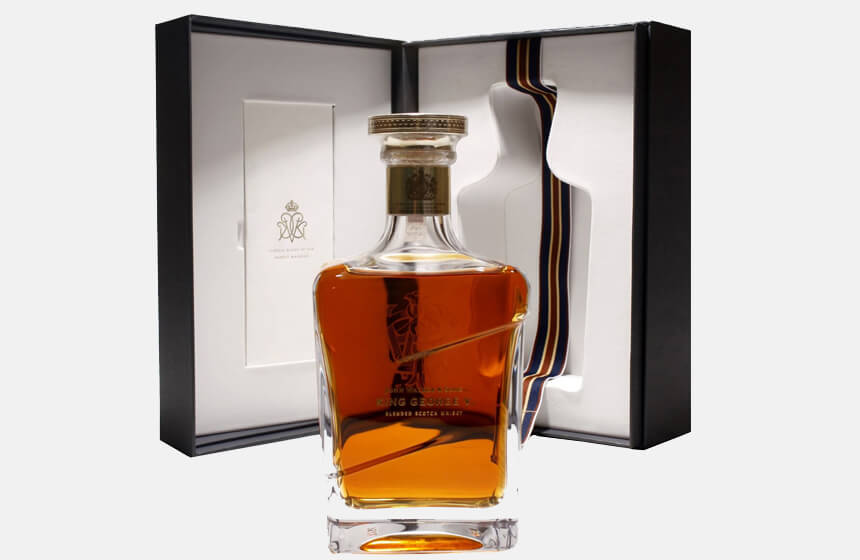 Exclusive Limited Edition John Walker King George V Whiskey