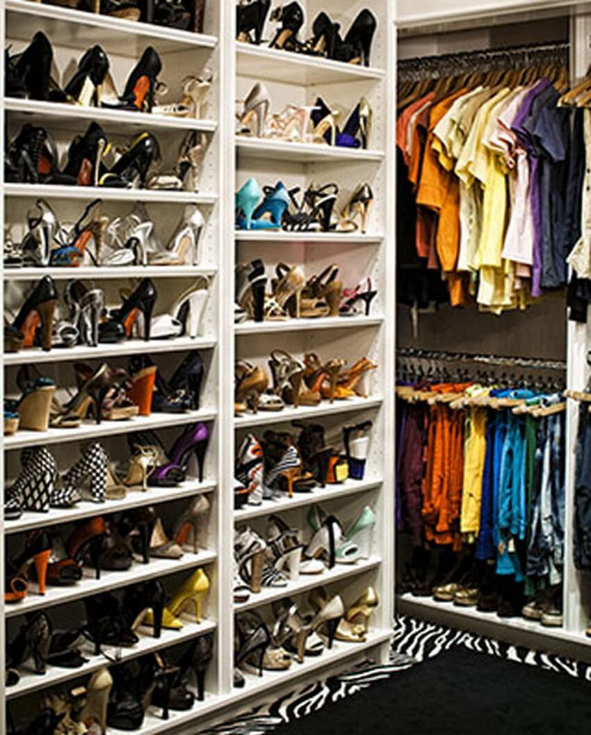 9.Fergie | Get Inside the 10 Most Exquisite Celebrity Closets