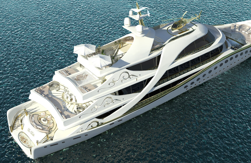First Luxury Yacht Made For Women