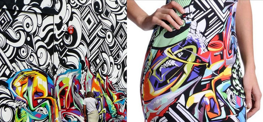 Graffiti Artists suing Roberto Cavalli for Using their Artwork | Image Source: www.brooklynstreetart.com