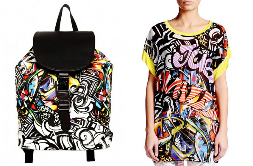 Graffiti Artists suing Roberto Cavalli for Using their Artwork | Image Source: www.buro247.ru