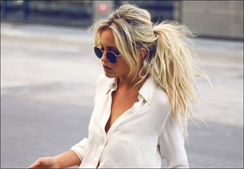 5. Grungy Ponies | Hottest Hair Trends for Spring 2016 | Image Source: http://www.lifestyled.com.au/
