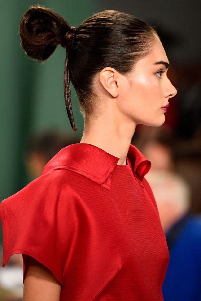 9. Creative Buns | Hottest Hair Trends for Spring 2016 | Image Source: http://www.harpersbazaar.com/