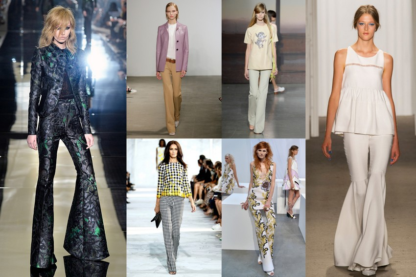 7. Flares | Hottest Women Fashion Trends Spring 2015 | Image Source: http://www.racked.com/