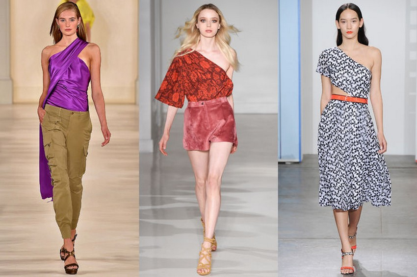 9. One-Shoulder Cuts | Hottest Women Fashion Trends Spring 2015 | Image Source: http://www.glamour.com/