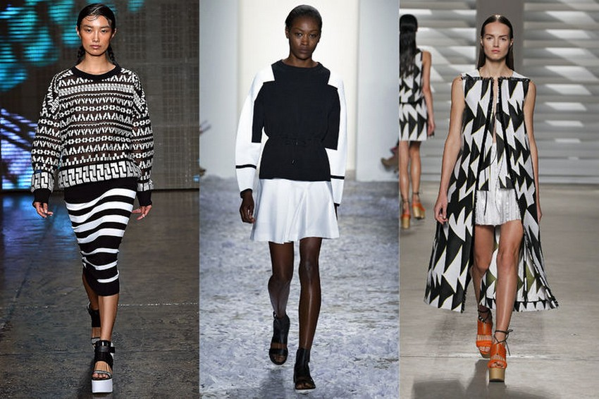 11. Black and White | Hottest Women Fashion Trends Spring 2015 | Image Source: http://www.glamour.com/