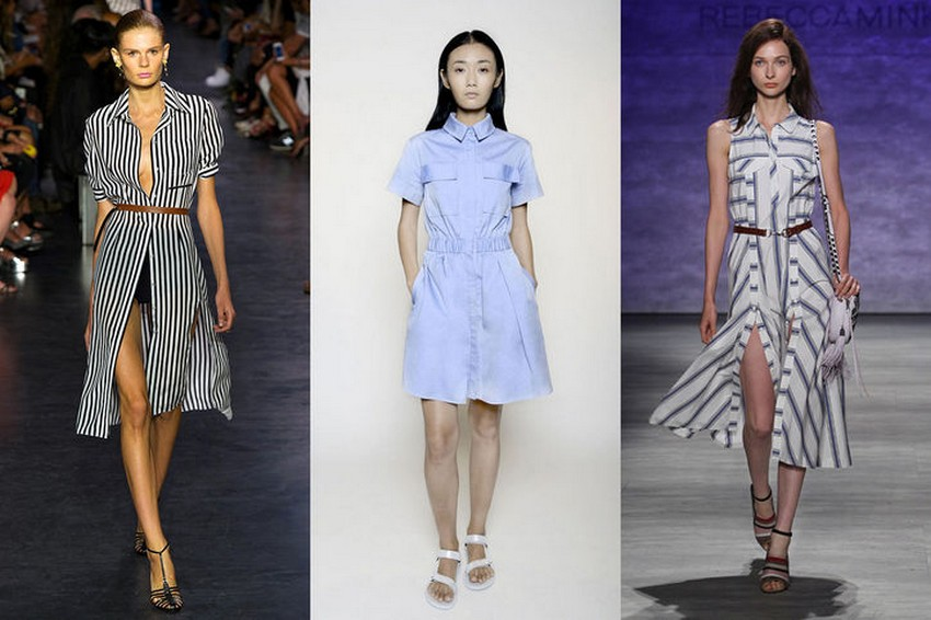 12. Shirtdresses | Hottest Women Fashion Trends Spring 2015 | Image Source: http://www.chaos-mag.com/