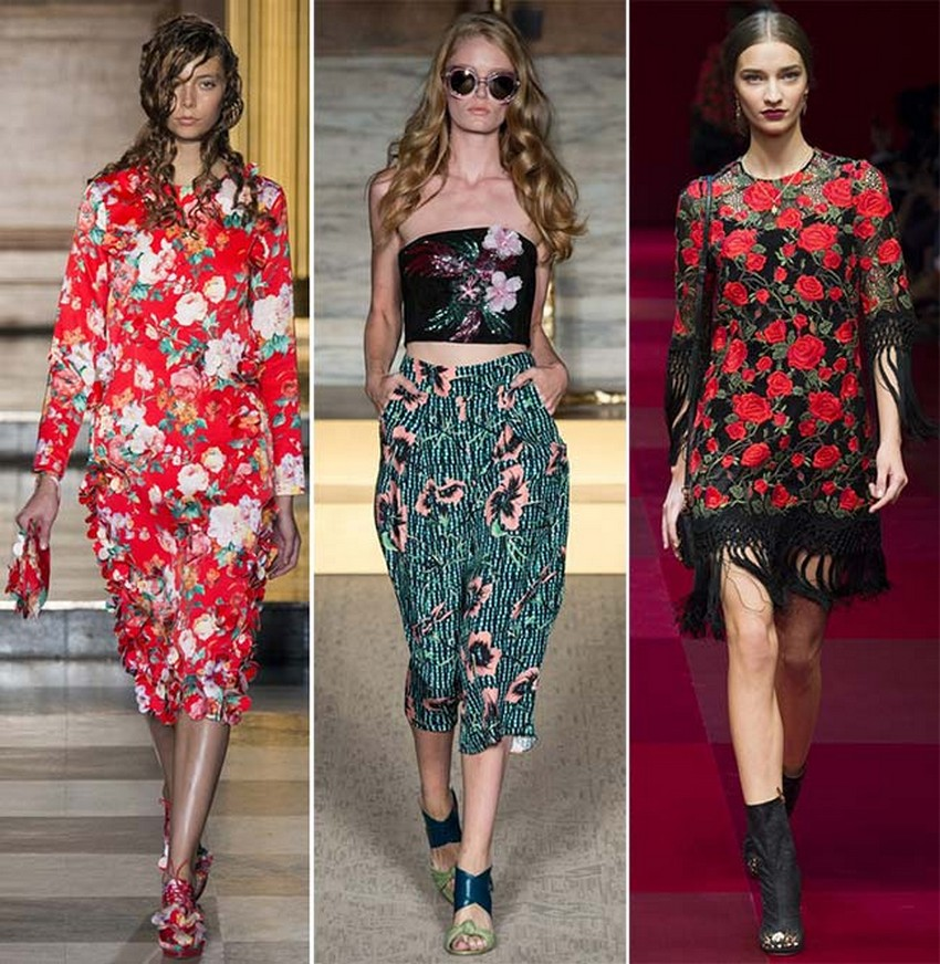 16. All Floral | Hottest Women Fashion Trends Spring 2015 | Image Source: http://cdn.fashionisers.com/