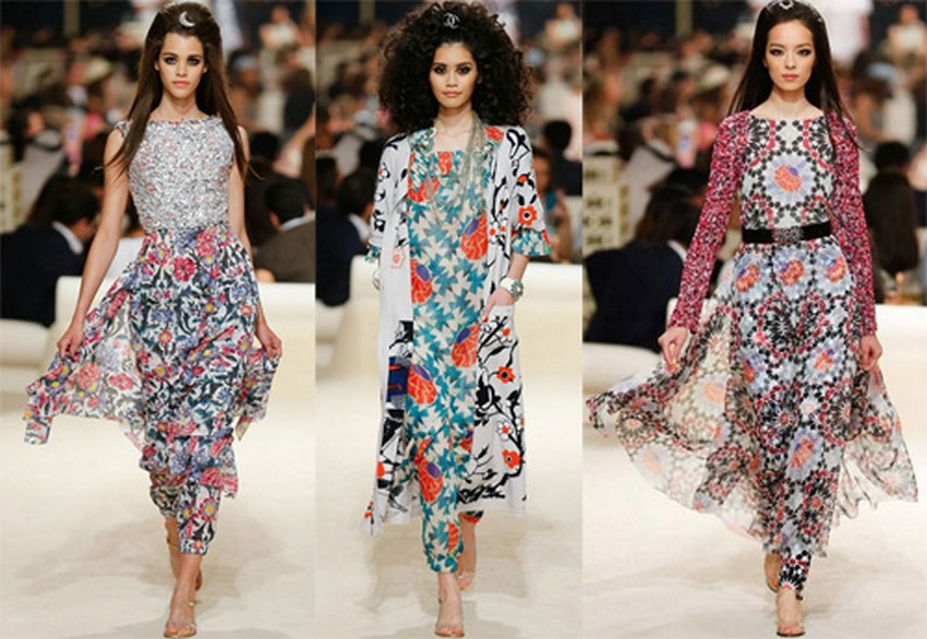 16. All Floral | Hottest Women Fashion Trends Spring 2015 | Image Source: http://www.fashionbashon.com/