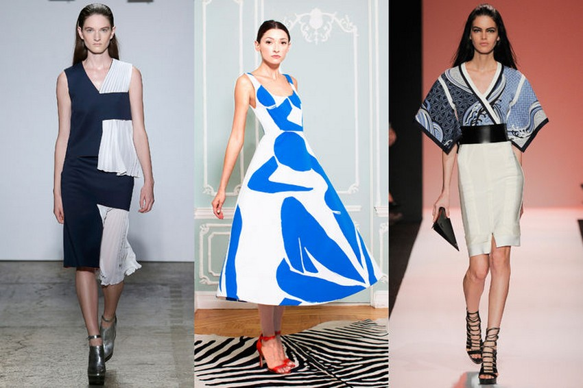 19. Blue and White | Hottest Women Fashion Trends Spring 2015 | Image Source: http://www.glamour.com/
