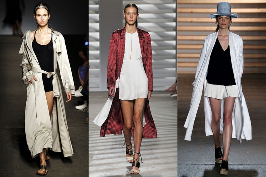 4. Kimono-Style Trench Coats | Hottest Women Fashion Trends Spring 2015 | Image Source: http://www.glamour.com/