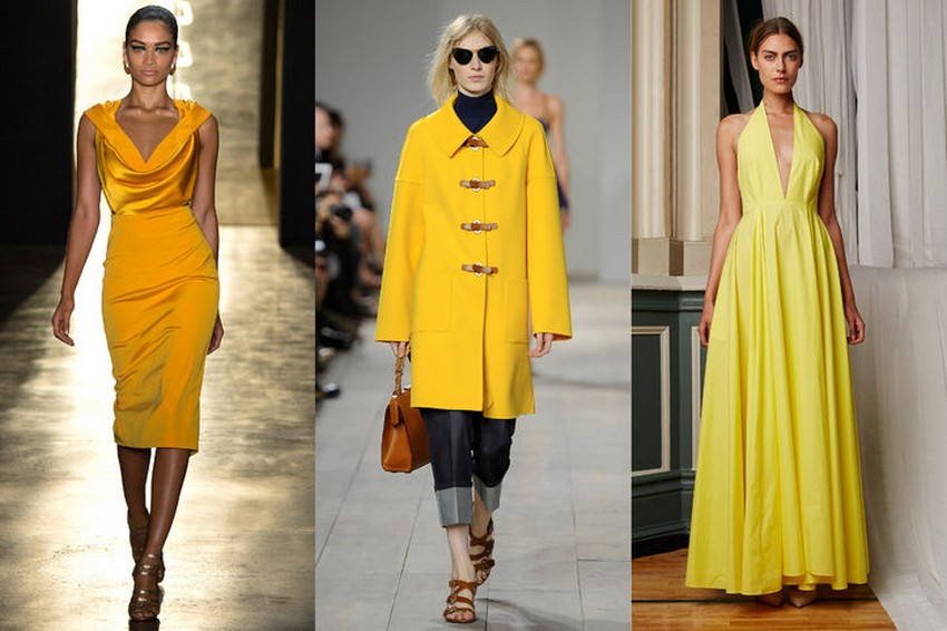 5. Yellow | Hottest Women Fashion Trends Spring 2015 | Image Source: http://www.glamour.com/