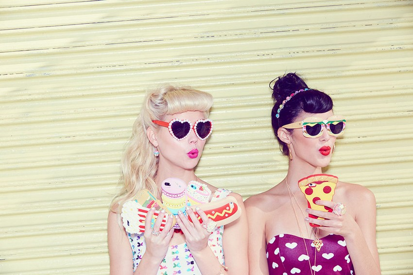 Katy Perry and Claire's Accessory Line Is No-Calorie Food | Image Source: www.lebook.com
