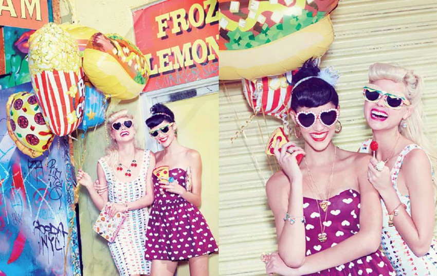 Katy Perry and Claire's Accessory Line Is No-Calorie Food | Image Source: www.bozena.pl