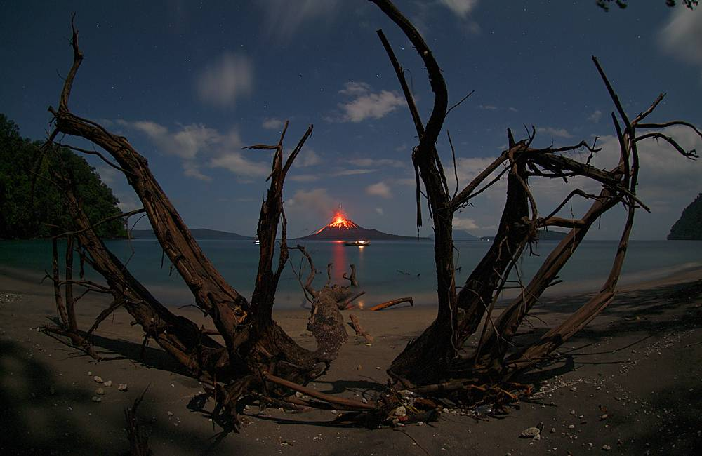 Krakatoa Island in Indonesia - Photo by Marco Fulle
