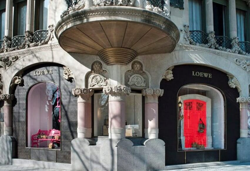 10 Extremely Exclusive Boutiques Worth Traveling for | Loewe in Barcelona
