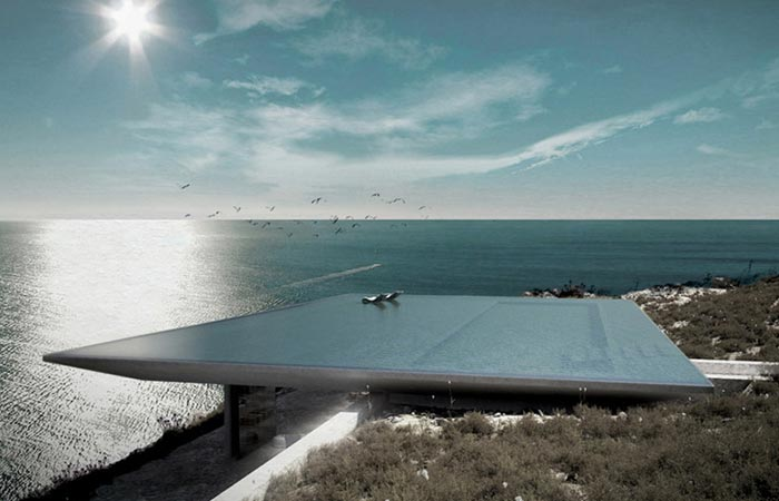 Amazing House in Greece With a Unique Rooftop Infinity Pool