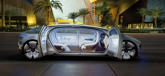 Meet the Self Driving Mercedes-Benz F105 Autonomous Concept