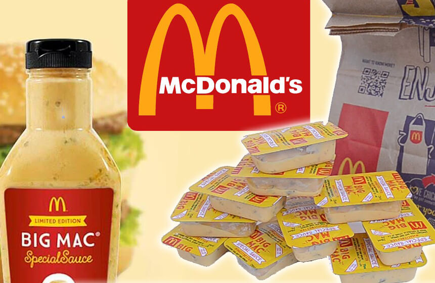 McDonald's Special Sauce Sells on eBay - EALUXE.COM