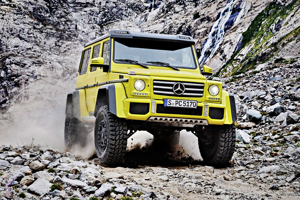 Sportive Luxury Squared: The New Mercedes G 500 4×4²