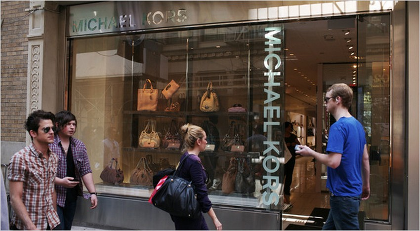Michael Kors Store in Soho is the Brand's Largest Flagship | Image Source: graphics8.nytimes.com