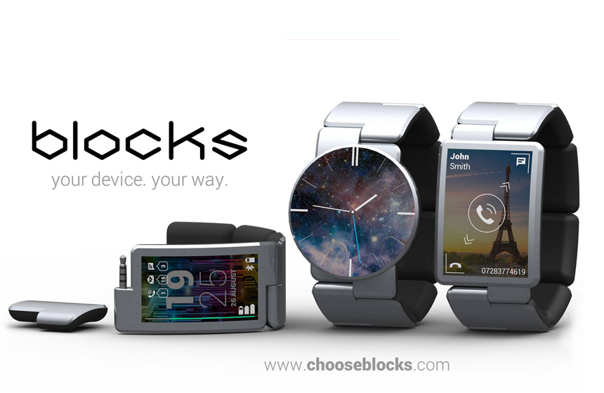 Modular Smartwatch Designed by Blocks-EALUXE.COM