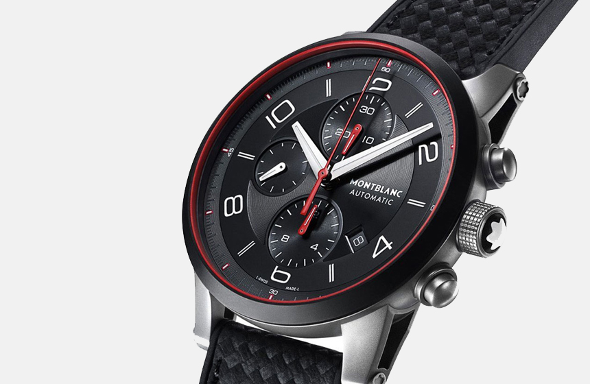 Montblanc Watch Features a Smart Strap