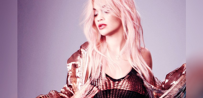Nylon's March Issue Reveals Rita Ora With Pink Hair10