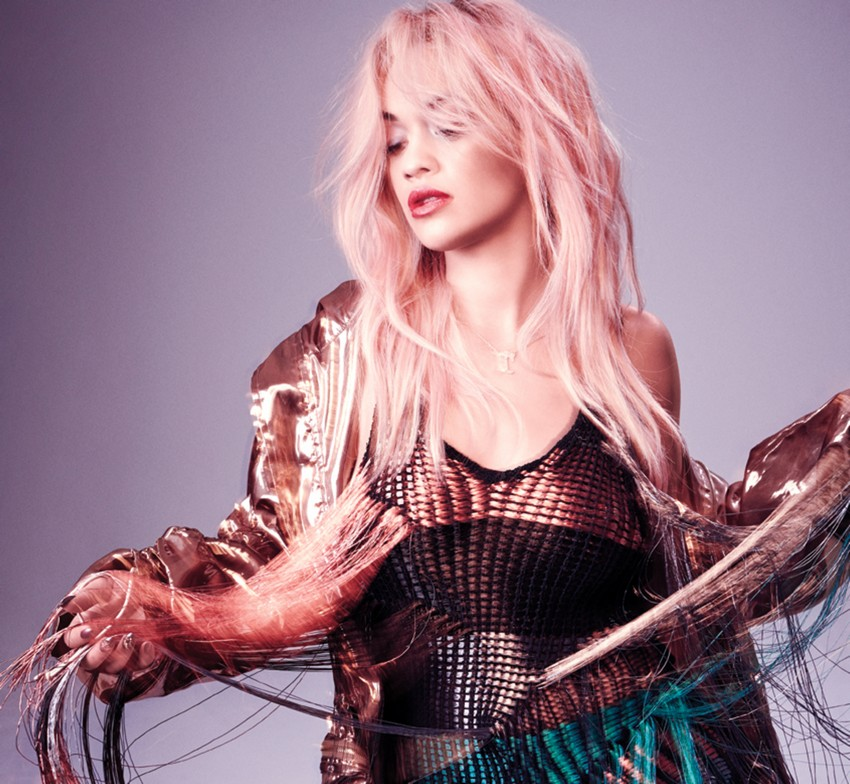 Nylon's March Issue Reveals Rita Ora With Pink Hair | Image Source: nylon.com