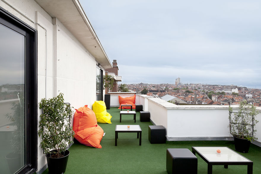 Enjoy a Colorful Stay at the Pantone Hotel in Brussels