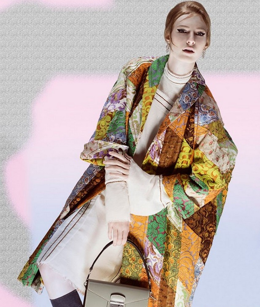 616b3652bad2 Prada Spring Summer 2015 Ad Campaign Goes Psychedelic