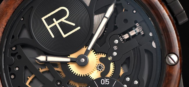 Ralph Lauren RL Automotive Skeleton Watch Inspired By Bugatti