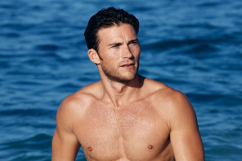 Scott Eastwood Is the New Face of Davidoff Cool Water | Image Source: thefashionisto.com