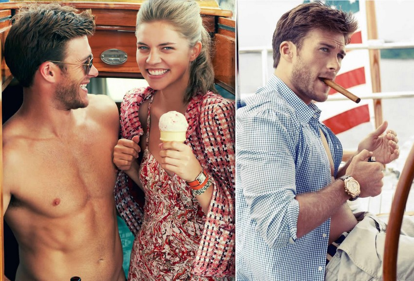 Scott Eastwood Is the New Face of Davidoff Cool Water | Image Source: pursuitist.com