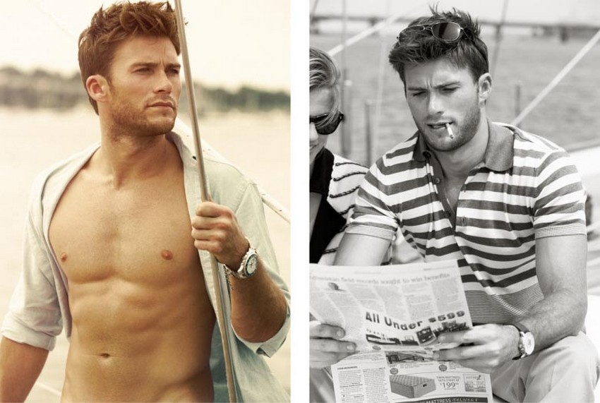 Scott Eastwood Is the New Face of Davidoff Cool Water | Image Source: noedewitt.com