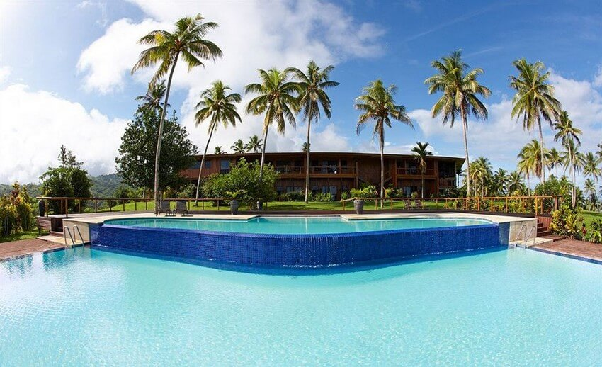 You Will Want to Check-in at Fiji's Top Rated Resort | Main Infinity Pool