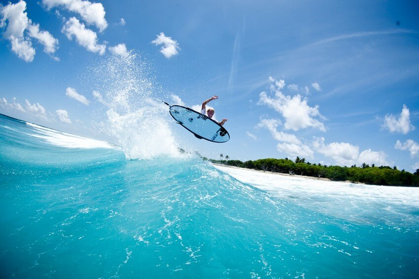 The Ultimate Valentine's Day Trip to Maldives | Surfing in Maldives