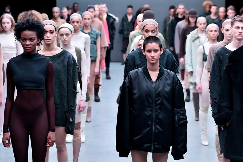 The Adidas x Kanye West Show Owned the Entire NYFW | Image Source: thenypost.files.wordpress.com
