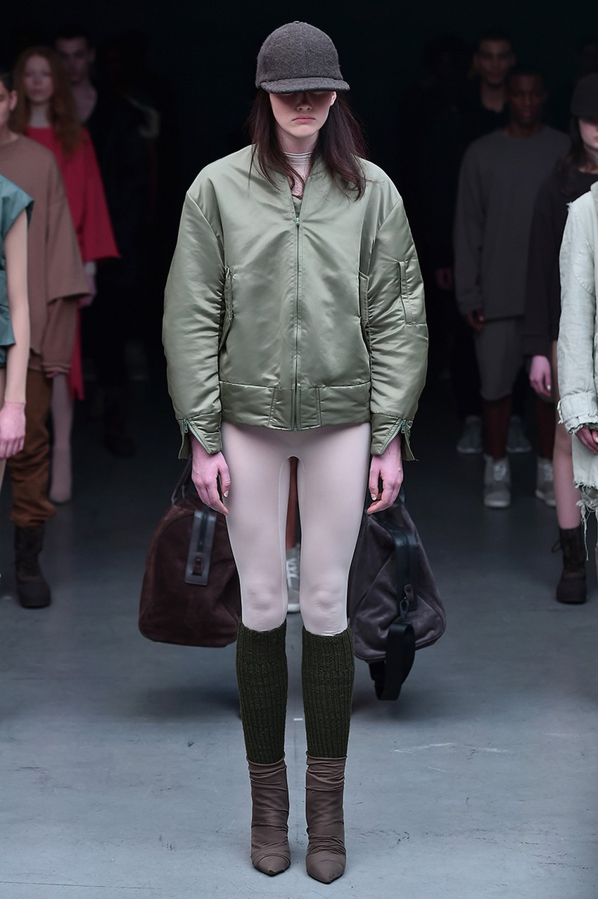The Adidas x Kanye West Show Owned the Entire NYFW | Image Source: www.vogue.com