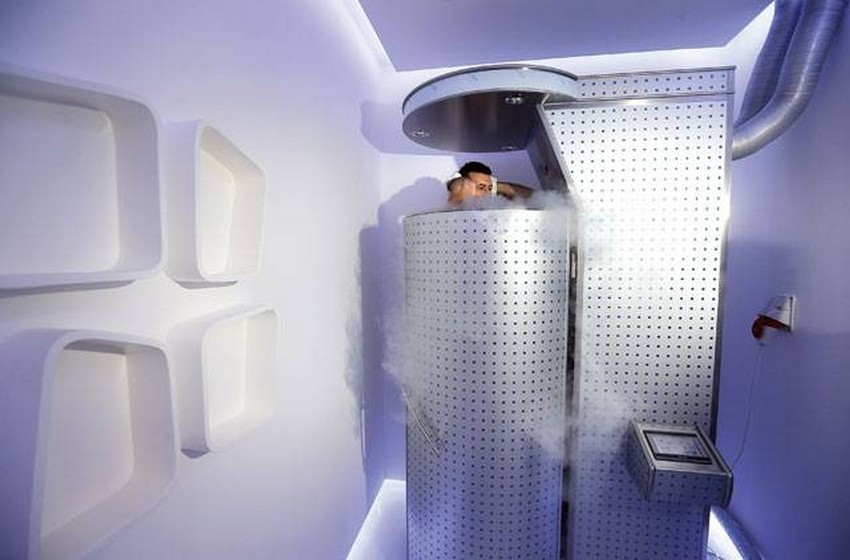 The Latest Celebrity Health Trend is Frightening: Cryotherapy | Image Source: www.alphamagazine.ae