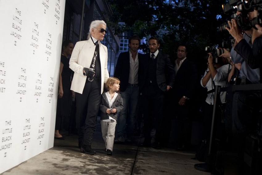 The New Karl Lagerfeld Kids Line Goes Rock'n'Roll | Image Source: www.wwd.com