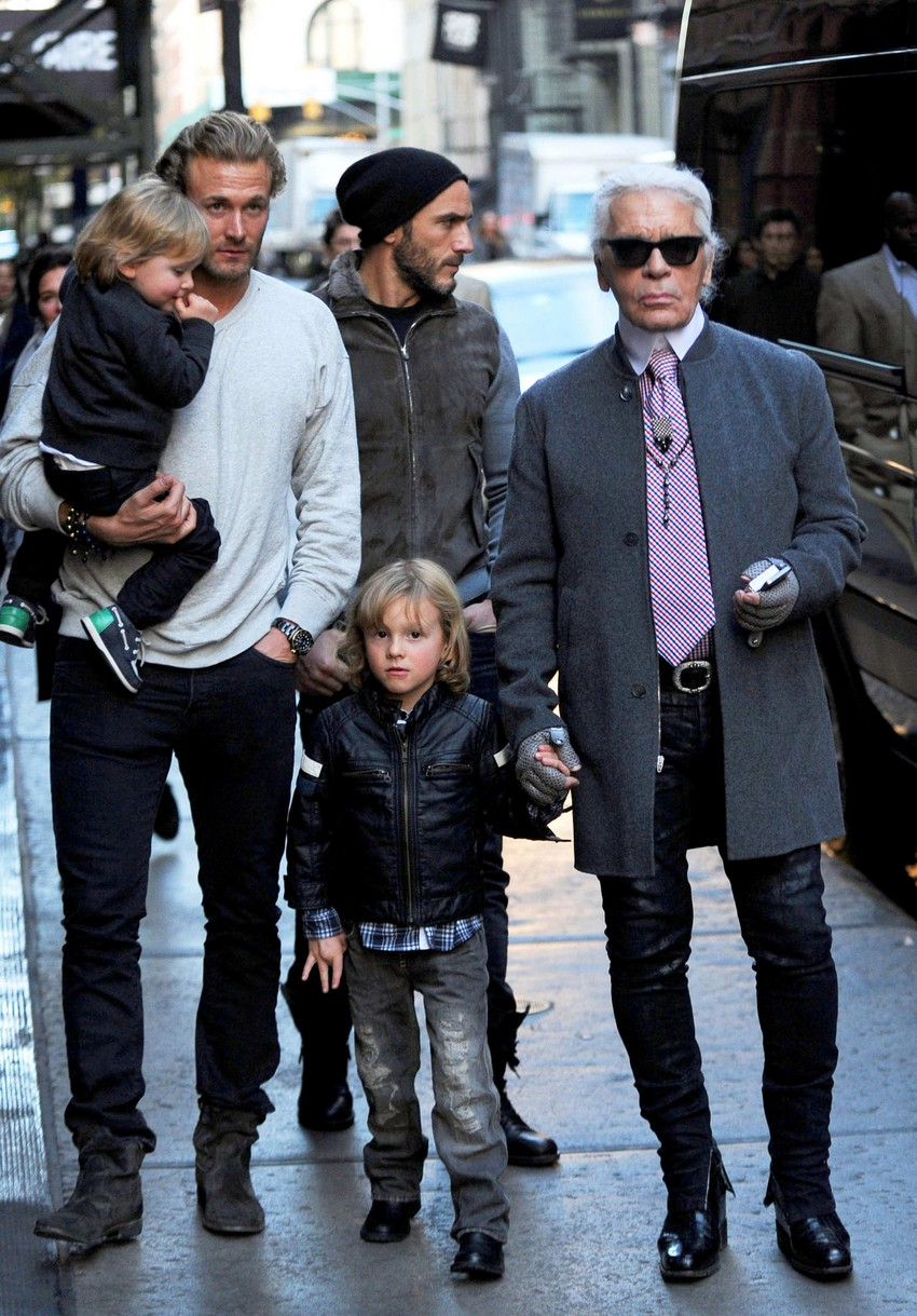 The New Karl Lagerfeld Kids Line Goes Rock'n'Roll | Image Source: pixel.nymag.com