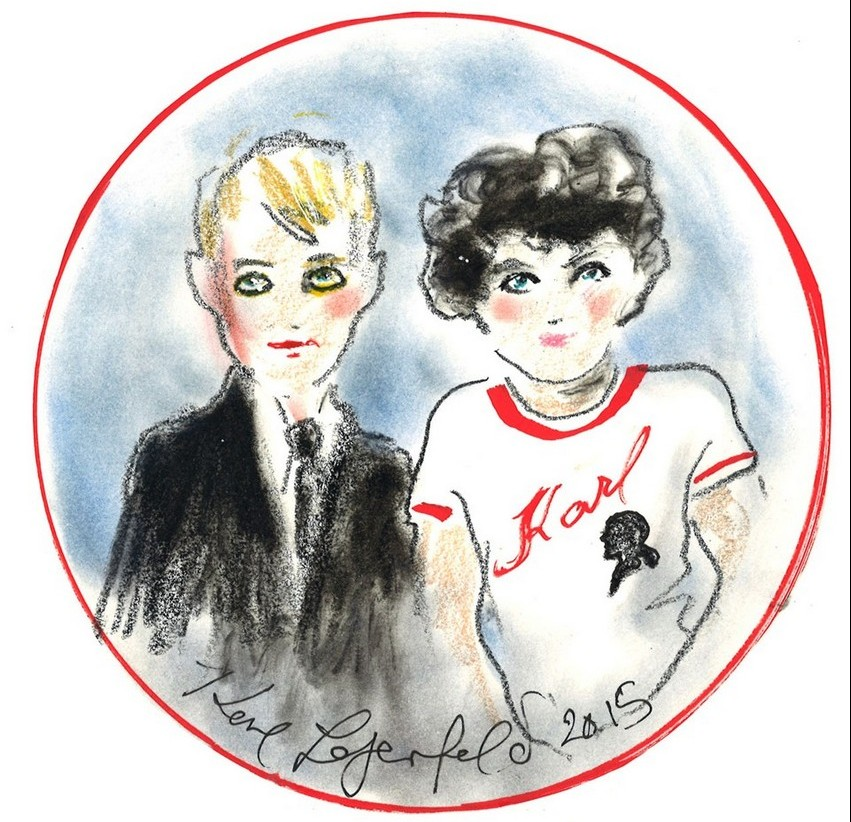 The New Karl Lagerfeld Kids Line Goes Rock'n'Roll | Image Source: sstylemagazine.com